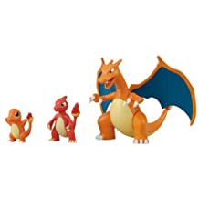 Pokemon Plastic Model Collection - Lizardon Evolution Set (3pcs) (Plastic model)