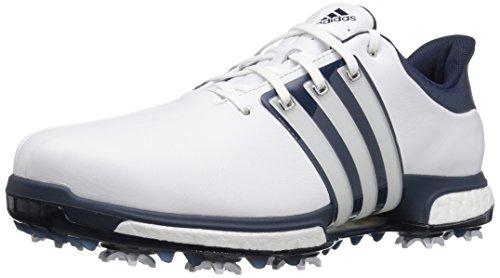 adidas Men's Tour 360 Boost Golf Shoe, WHITE, 10.5 M US