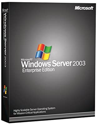 Microsoft Windows Server Enterprise 2003 64 Bit - 25 Client [Old Version]
