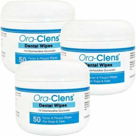 3Pack Oraclens Dental Wipes (150 Count)