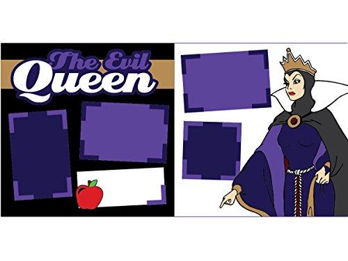 """""""The Evil Queen"""" Scrapbook Kit"""