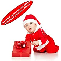 Santa Claus Dress Costume for Boys Girls Kids (1- 3 Years) by ARCK