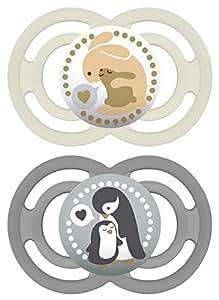MAM Babyartikel 99953600 - Lot de 2 chupetes, sin BPA,surtido: colores aleatorios