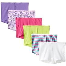 Hanes Women's Boyshort Panty- Assorted (Pack of 6)