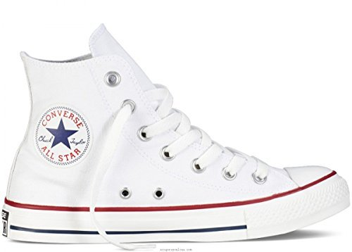 Unisex Chuck Taylor All Star High Top Sneakers (7.5 (men) / 9.5 (women) us, Optical White)