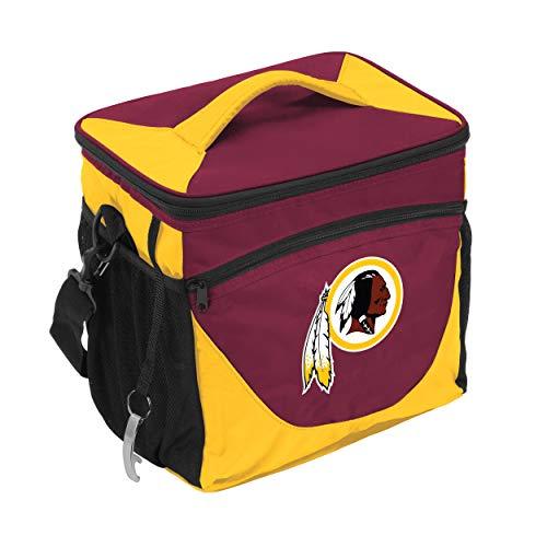 Logo Brands 632-63 NFL Washington Redskins 24 Can Cooler, One Size, ()