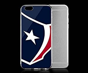 Light weight with strong PC plastic case for Iphone 6 Sports & Collegiate NFL Houston Texans Houston Texans Large Logo