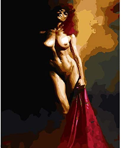 Amazon.com: ZHAOSHOP Digital Painting Paint Nude Oil Painting by Numbers On  Canvas DIY Digital Sexy Girl Painting Coloring by Numbers Decorative Canvas  Paintings, Frameless DIY Painting: Paintings