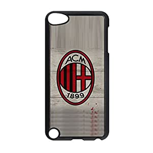 Plastic Back Phone Cover For Children For Apple Ipod Touch 5 Printing Ac Milan Choose Design 7