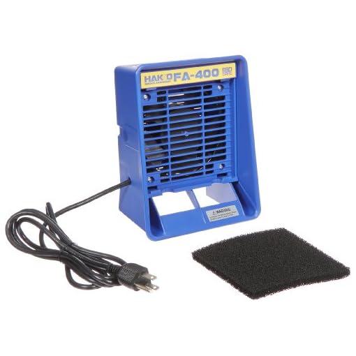 Hakko-FA400-04-Bench-Top-ESD-Safe-Smoke-Absorber