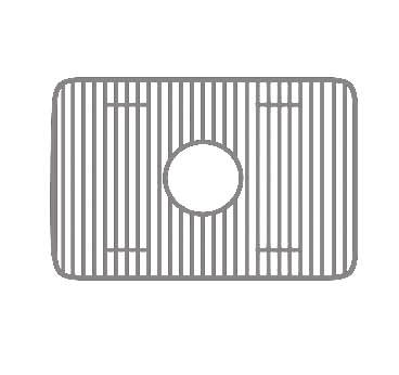 Whitehaus WHREV2418-SS Stainless Steel Sink Grid, Stainless Steel