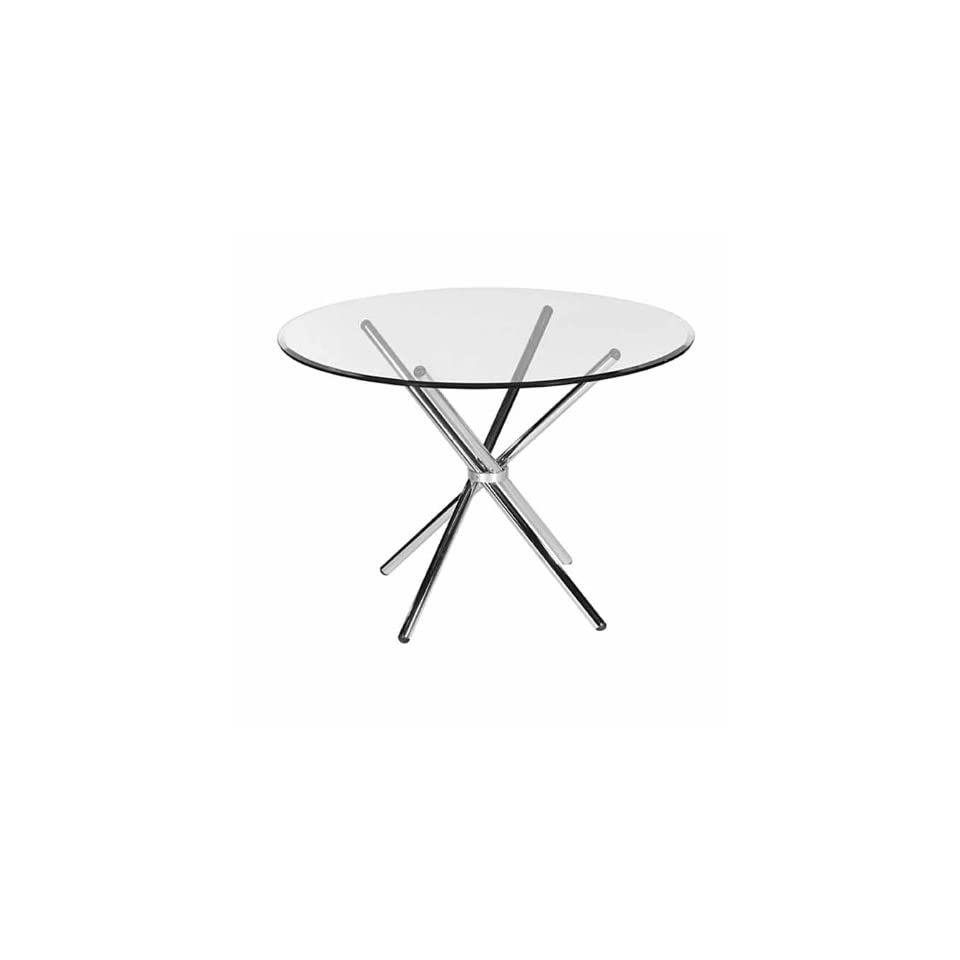 Bellini Modern Round Glass Dining Table 633