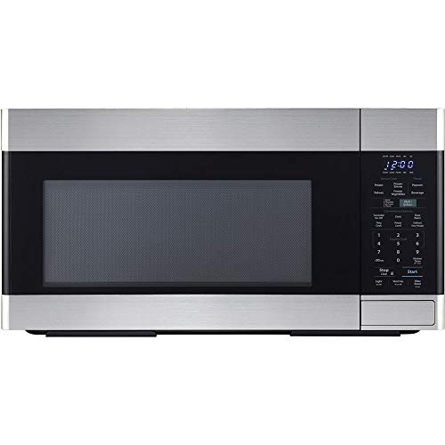Sharp SMO1652DS Over the Range Microwave Oven with 1.6 cu. ft. Capacity, 1000 Cooking Watts, 450 CFM in Stainless Steel       ()