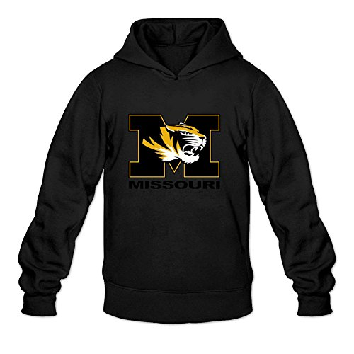 Oryxs Men's Missouri Tigers Sweatshirt Hoodie M Black