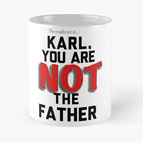 Karl Maury Povich Lagerfeld Chanel - 11 Oz Coffee Mugs Unique Ceramic Novelty Cup, The Best Gift For Christmas.