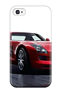 New Style Faddish Phone 2011 Mercedes Benz Sls 3 Case For Iphone 4/4s / Perfect Case Cover