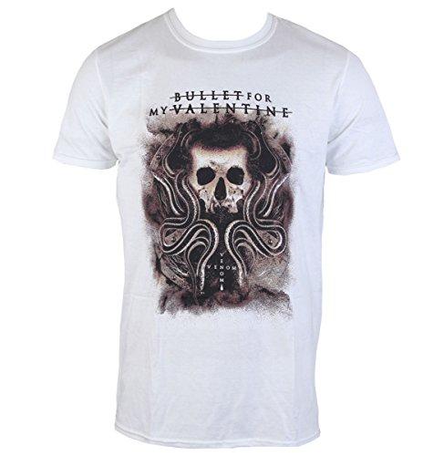 Herren T-Shirt Bullet For my Valentine - Snakes & Skull - ROCK OFF - BFMVTS16MW