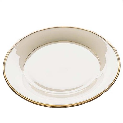 (Lenox Eternal Gold Banded Ivory China Salad Plate)