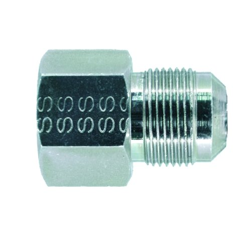 Watts Dormont 90-1032R Gas Adapter Fitting 3/8-Inch Flare by 1/2-Inch Female - Fip Adapter