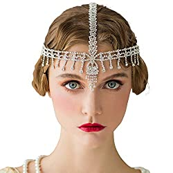 1920s Rhinestone Headband Flapper Hair Accessories
