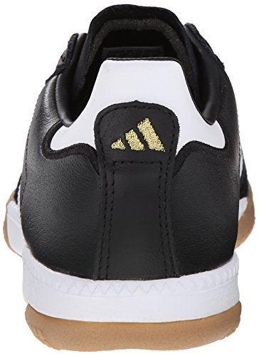 adidas Performance Men's Samba Millennium Indoor Soccer Shoe Black/White/Gold cheap sale fashionable explore cheap online hpo8Wz6YV