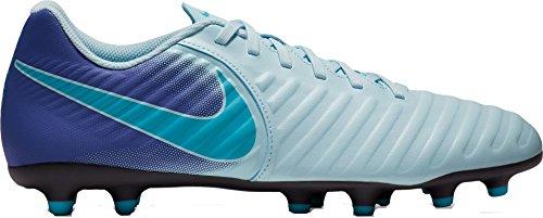Nike Legend 7 Club FG Soccer Cleats (9, Blue/Purple) (Nike Soccer Cleats Size 9)