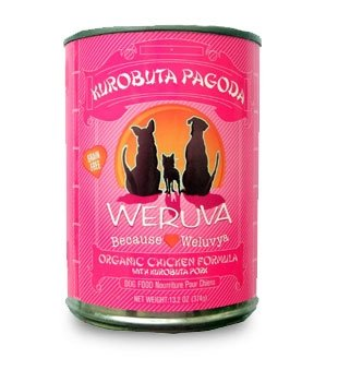 WERUVA INTERNATIONAL, INC. - DOG KUROBUTA PAGODA 12/13.2OZ Case