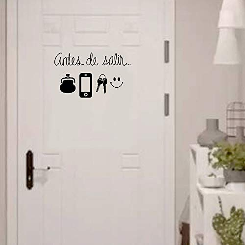 OTTATAT Wall Stickers For Living Room 2019,FOR Phone key Smiley Face Wall Sticker Art Decal Room Decor Easy to peel Wedding anniversary Holiday Gift for girlfriends Free post Clearance