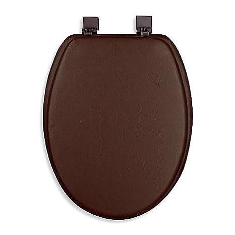 Amazon.com: Ginsey Cushioned alargado de asiento de inodoro ...