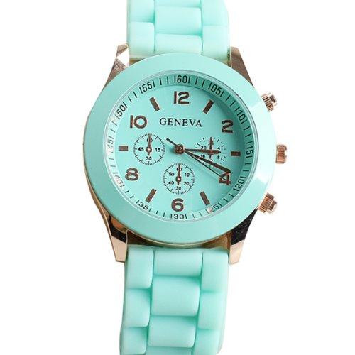 Domire Popular Silicone Quartz Men Women Girl Boy Unisex Jelly Wrist Watch