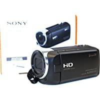 Sony CX440 HDR-CX440/B Full HD 60p Video Recording Handycam Camcorder - 30x Optical/350x Digital Zoom - 2.64-inch Clear Photo LCD display - 26.8 mm Wide-Angle Lens - Black (Certified Refurbished)
