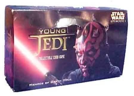 Young Jedi Ccg - Star Wars Young Jedi: Menace of Darth Maul Booster Box