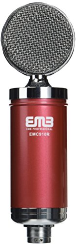 EMB EMC910 Professional High-Performance Multi-Pattern Large Diaphragm Condenser Project Studio Microphone (Mxl 2010 Multi Pattern)