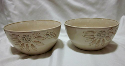 (Set of Two Pfaltzgraff Daisy Chain Soup/Cereal)