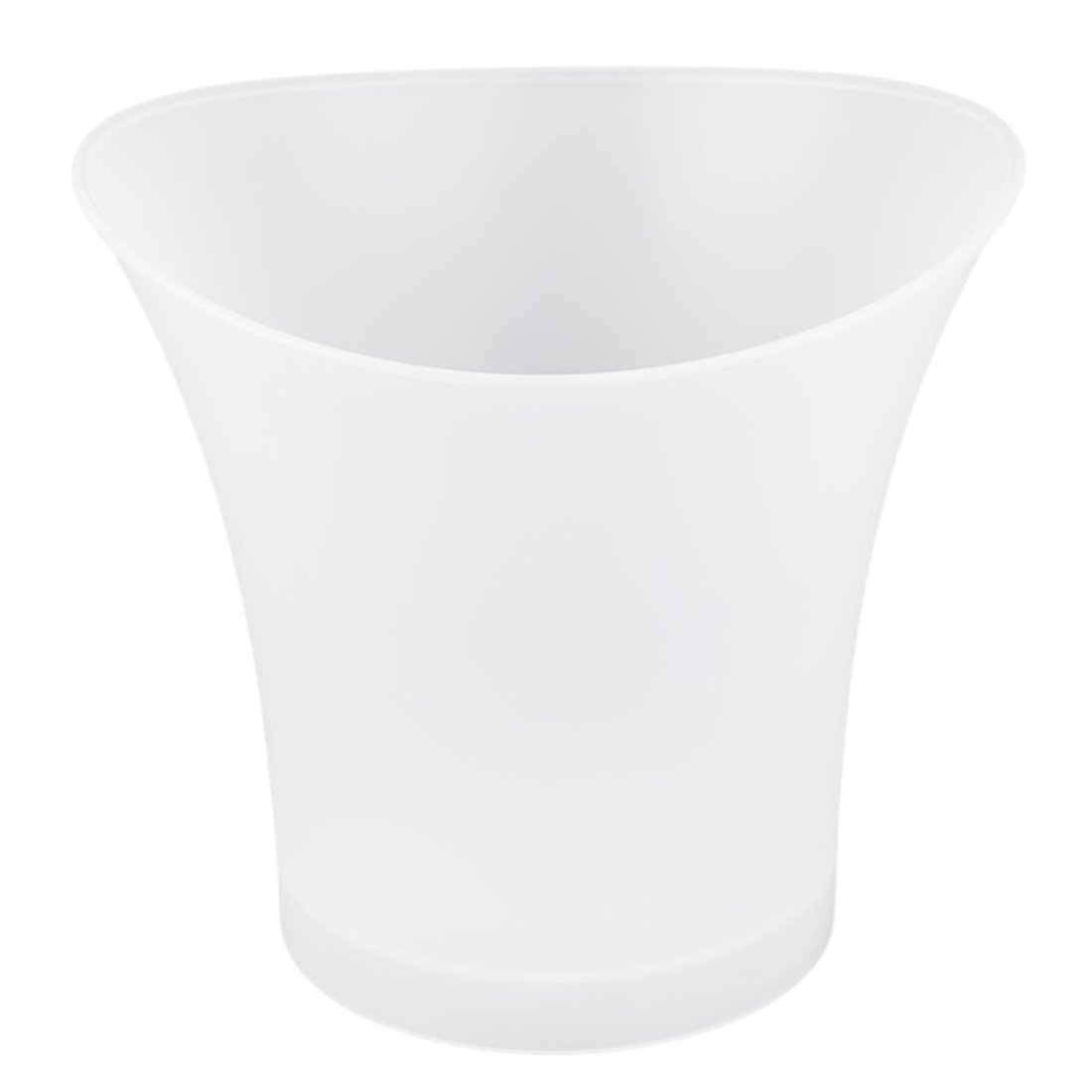 SODIAL(R) 5L Volume Plastic Led Ice Bucket Color Changing Bars Nightclubs LED Light Up Ice Bucket Champagne Beer Bucket (green)