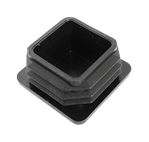 (100 Pack) (14-20 GA) Square Plastic Polyethylene Plug 1''x 1'' by Brewdogsupplies (Image #8)