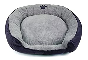 B00KRWWWXYZWE Dallas Manufacturing Co. Products Stepover Bolster Cord Pet Bed, 36-Inch, Purple