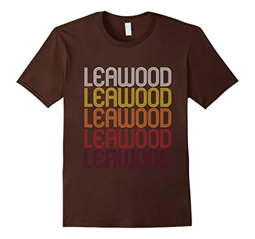 Men's Leawood, KS | Vintage Style Kansas T-shirt Small - Ks Leawood