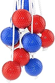 Ladder Ball Toss Game Family Outdoor Replacement Ladder Balls Pairs Ladder Golf Balls Set, Ladder Ball Replace