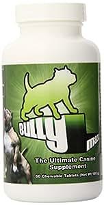 Bully Max Dog Muscle Supplement 60 pills (720-Pills)