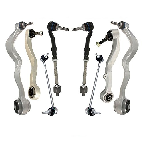Front Left & Right Suspension Kit Control Arm Bar Link for BMW E60 5 Series 525i 528i 530i 535i 545i 550i M5