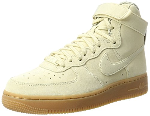 Nike Kvinnor Air Force 1 Hi Syns Brun Elfenben 860.544-100