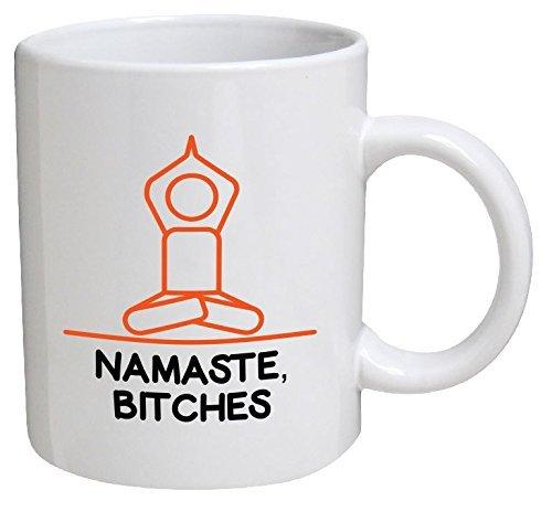 Namaste Bitches Meditation Ounces Coffee product image