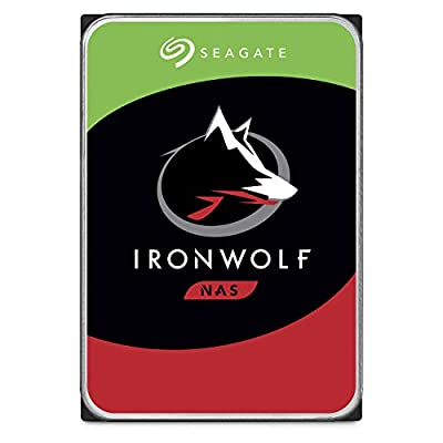 Seagate IronWolf 2TB NAS Internal Hard Drive HDD - 3.5 Inch SATA 6Gb/s 7200 RPM 256MB Cache for RAID Network Attached Storage (ST2000VN004) by SEAGATE