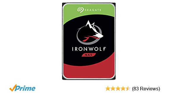 Seagate IronWolf 16TB NAS Internal Hard Drive HDD – 3 5 Inch SATA 6GB/S  7200 RPM 256MB Cache for Raid Network Attached Storage (ST16000VN001)