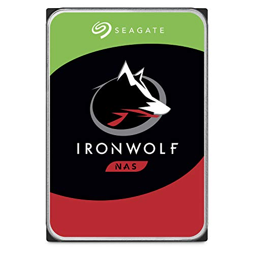 Seagate IronWolf 10TB NAS Internal Hard Drive HDD - 3.5 Inch SATA 6Gb/s 7200 RPM 256MB Cache for RAID Network Attached Storage (ST10000VN0004)