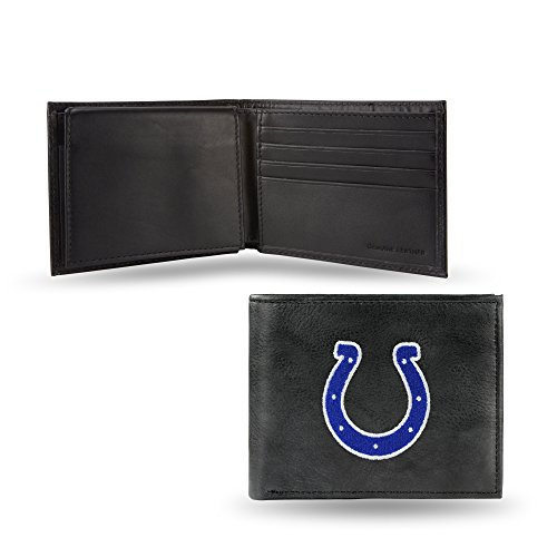NFL Indianapolis Colts Embroidered Leather Billfold Wallet