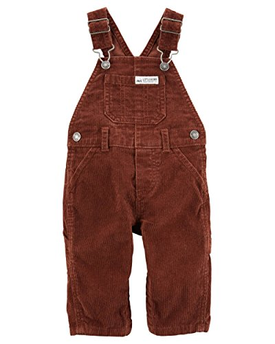 - Carter's Baby Boys' Rust Corduroy Overalls - Little Hunk- 9 Months