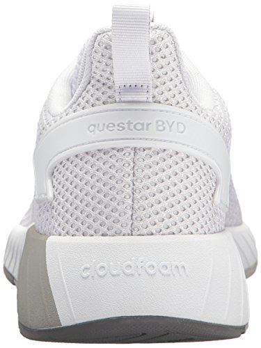 adidas Men's Questar BYD, White/Grey Two, 6.5 M US by adidas (Image #2)