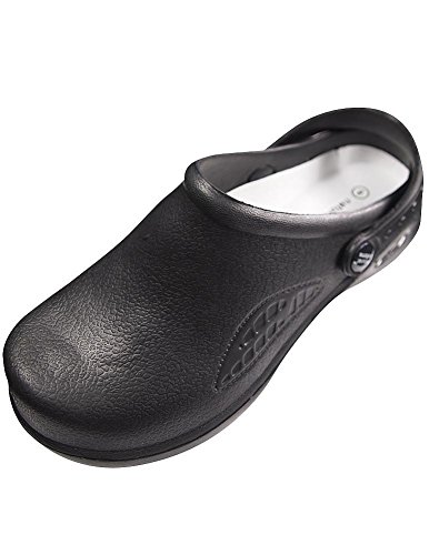 Natural Uniforms - Women's Lightweight Comfortable Nurse / Nursing Clogs, Black 32337-11B(M)US